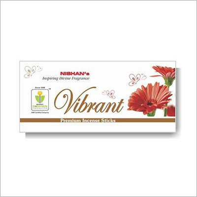 Vibrant Premium Incense Sticks Small Pouch Pack