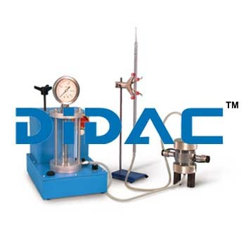Permeability Constant Oil Water Pressure System