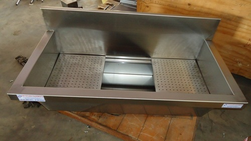 Stainless Steel Wall Mounted Sink