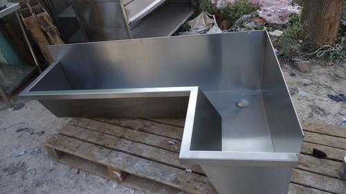 Steel Wall Mounted Sink