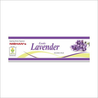 Lavender Incense Sticks Small Pouch Pack