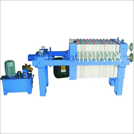 Manual Hydrulic Filter Press