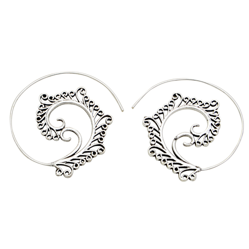 Silver Plated Fancy Earring