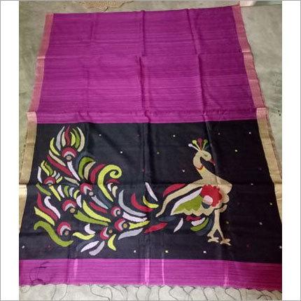 Handloom Silk Cotton Jamdani