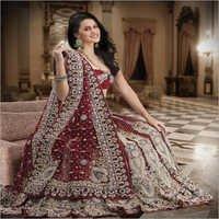 Glamorous Indian Bridal Lehenga