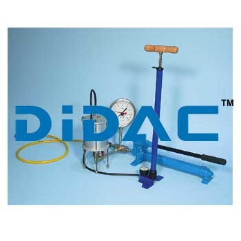 Hydraulic Constant Isotropic Cell Pressure System
