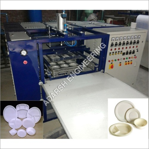 Thermocol Dona Plate Machine