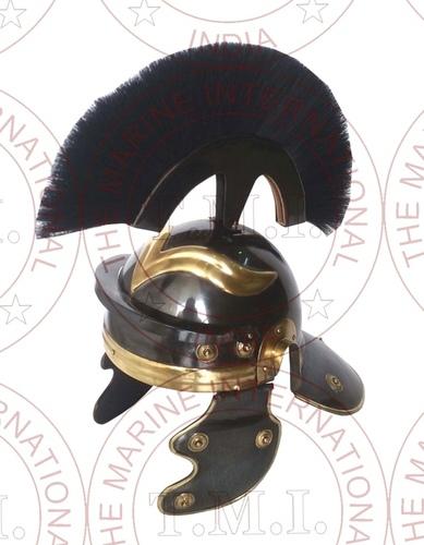 Antique Roman Centurion Helmet With Plume