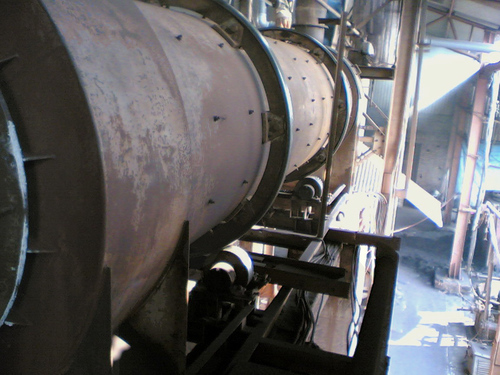 CONTINUOUS ROTARY DRYER