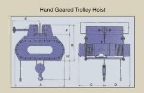 Hand Geared Trolley Hoist