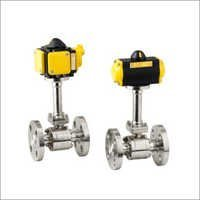 2 Way Pneumatic Operated Cryogenic Ball Valve