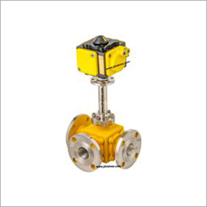 3  Way Pneumatic Operated Cryogenic Ball Valve