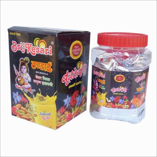 Brijkesari Thandai Powder 500gm Jar