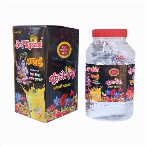 Brijkesari Thandai Powder 1kg Jar