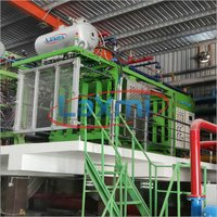 Thermocol Shape Moulding Machine With vacuum