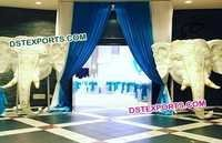 Indian Wedding Elephant Entrance Decoration