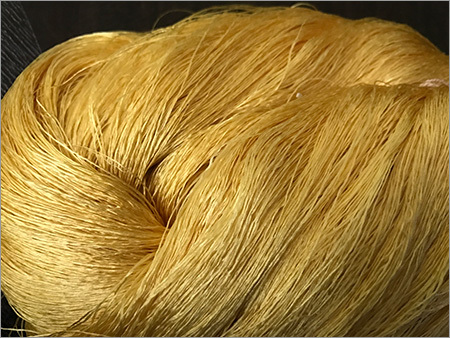 Twisted Dyed Silk Yarn