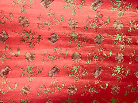 Embroided Silk Fabric