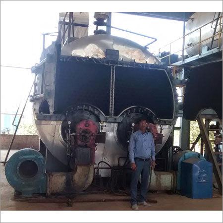 Shell Type Steam Boilers Repair