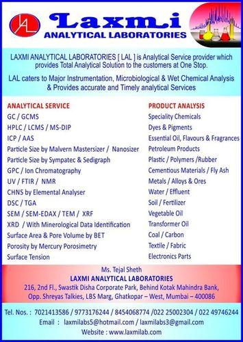 Testing Lab Services