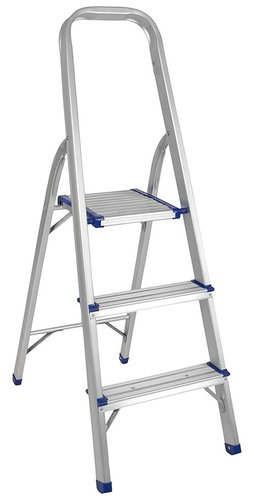 3 STEP PLATFORM ALUMINIUM LADDER