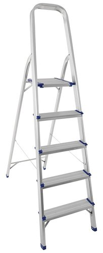 5 STEP PLATFORM ALUMINIUM LADDER
