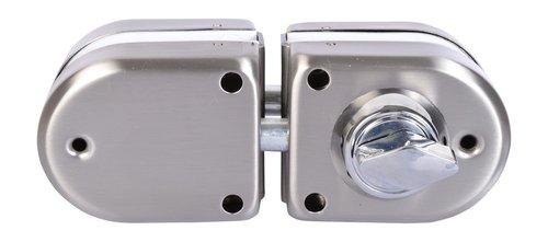 NEW MINI GLASS DOOR LOCK MODEL-1 DOUBLE DOOR