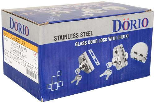 GLASS DOOR LOCK WITH ONE SIDE CHUTKI