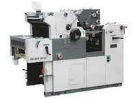 2 color satellite printing machine