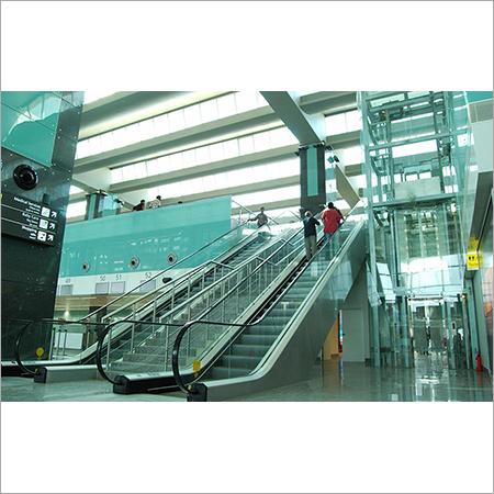 Escalator Cladding