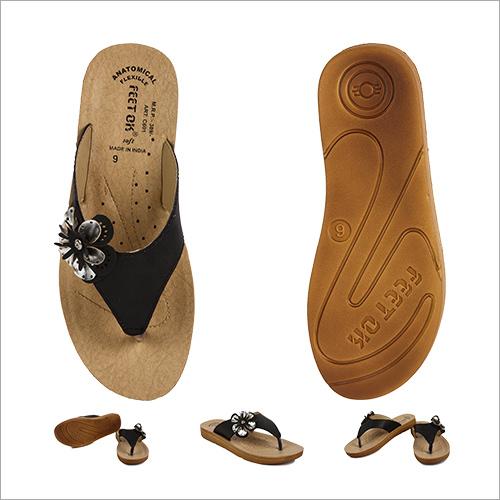 Casual Black Slipper