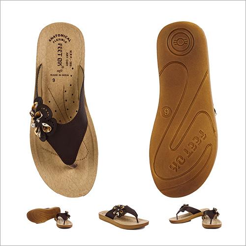 Casual Brown Slipper