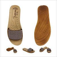 Closed Upper Ladies Brown Footwear