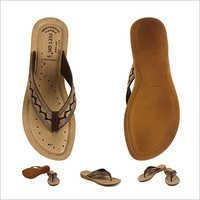 Fancy Brown Slipper