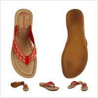 Fancy Red Slipper
