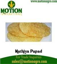 MATHIYA PAPAD