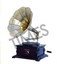 Antique Square Gramophone