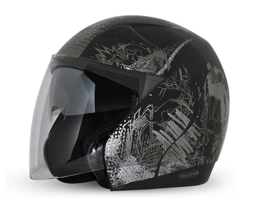 MOTORCYCLE OPEN FACE HELMETS