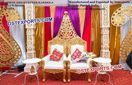 New Design Wedding Jai Mala Chair