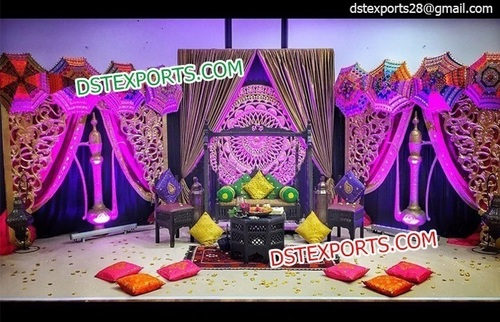 New Muslim Wedding Stage Decors