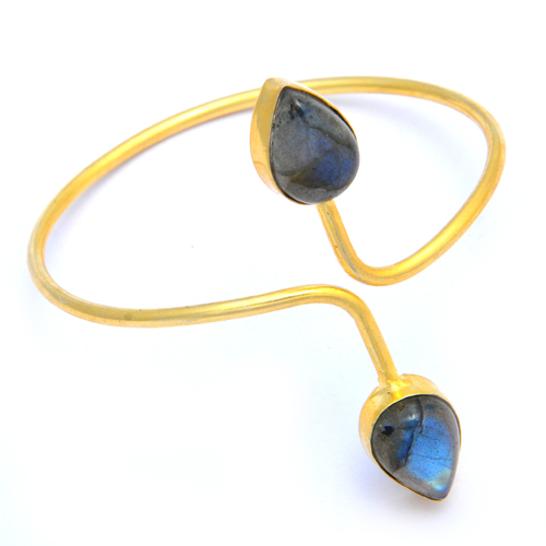 Labradorite Adjustable Bracelet