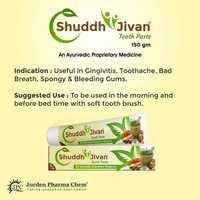 Shuddh Jivan Tooth Paste