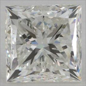 Princess Cut CVD Diamonds