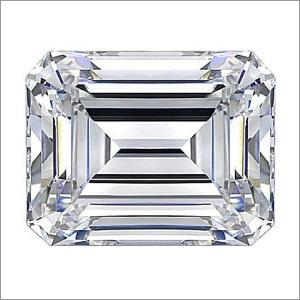 Emerald Cut HPHT Diamond