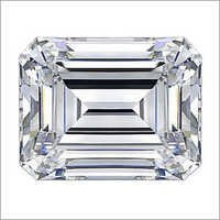 Emerald Cut HPHT Diamond