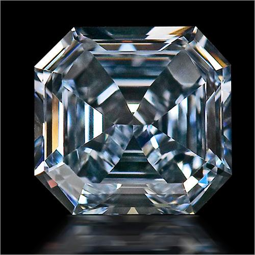 Asscher Shaped Lab Grown Diamonds