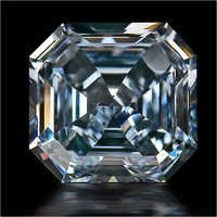 Asscher Shaped Lab Grown Diamonds