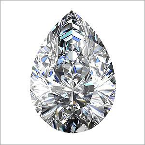 Pear Shaped CVD Diamonds