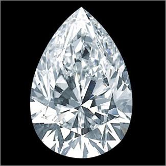 Pear Shape HPHT Diamonds
