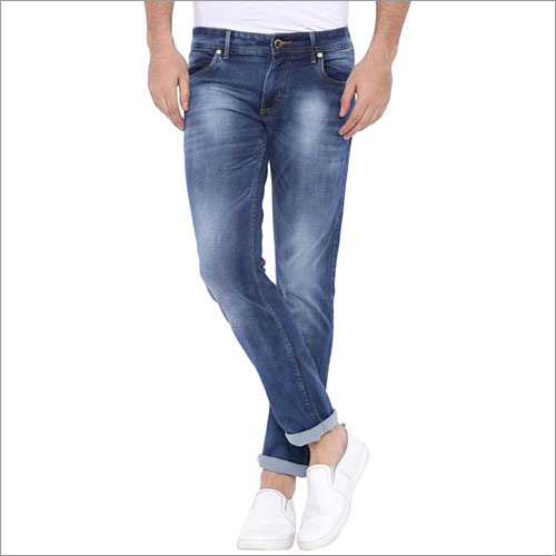 Bandit Blue Washed Slim Fit Jeans